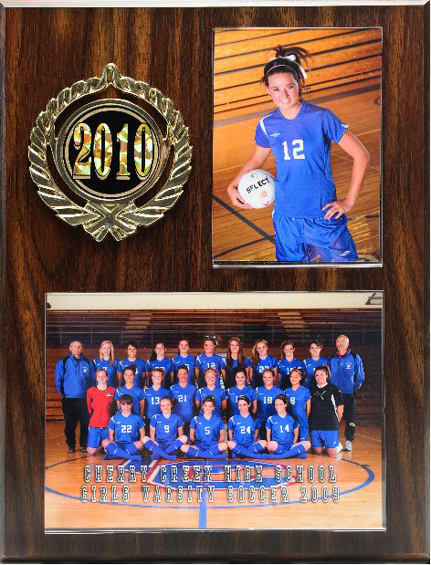 Imagetek Sports Plaque | Imagetek Team Photography