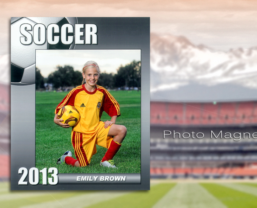 Sports Magnets | Imagetek Youth Sports Photos