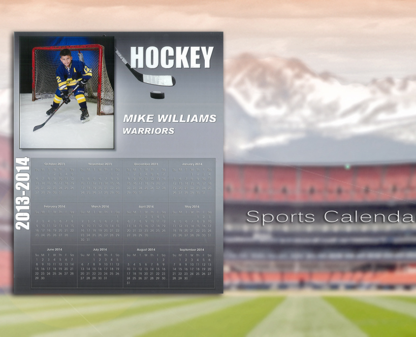 Sports Calendar | Imagetek Sports Photos