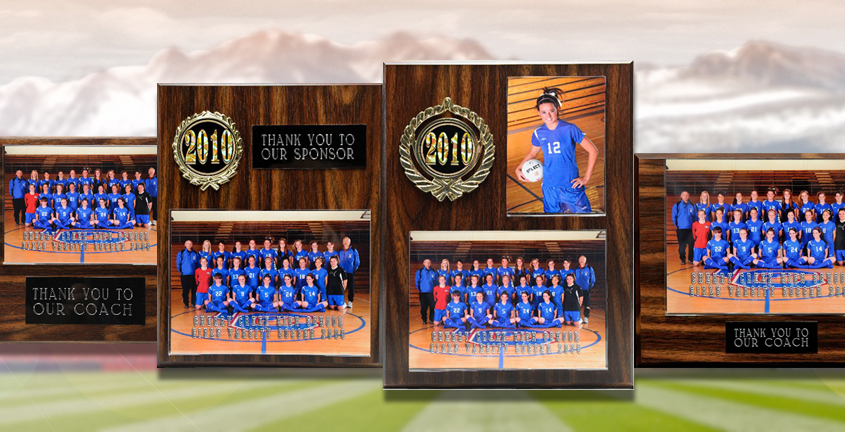 Imagetek Sponsor and Coach Plaques